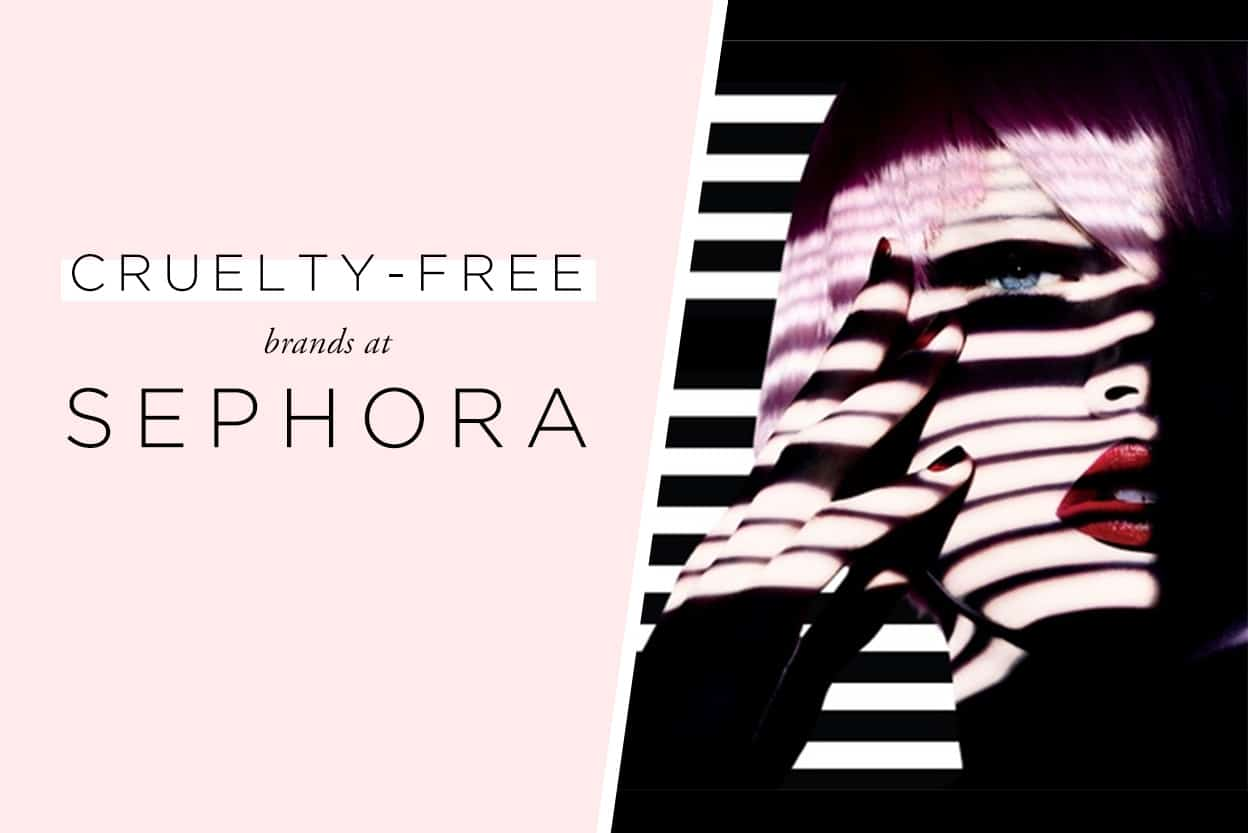 cruelty free brands at sephora makeup skincare nails and hair