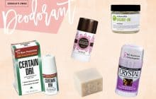 The 5 Best Cruelty-Free Deodorants That Actually Work