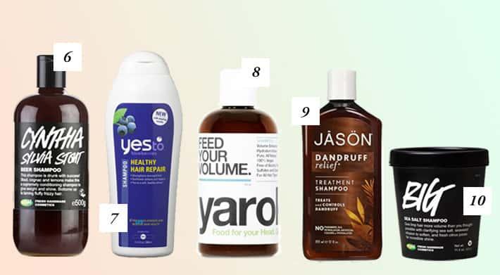 Best Natural Vegan Shampoo
