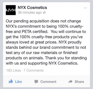 2. Choosing to buy the cruelty-free brands sends a message