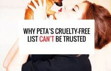 Why PETA's Cruelty-Free List Can't Be Trusted