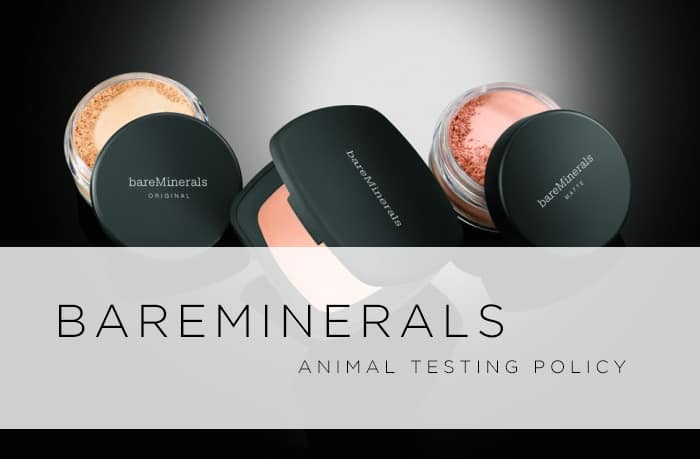 Does Bare Minerals Test On Animals? | 2017 Policy
