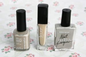 beige nail polish comparison