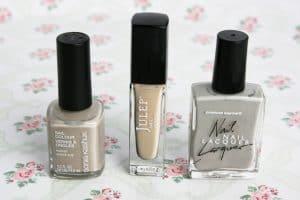 beige nail polish comparison