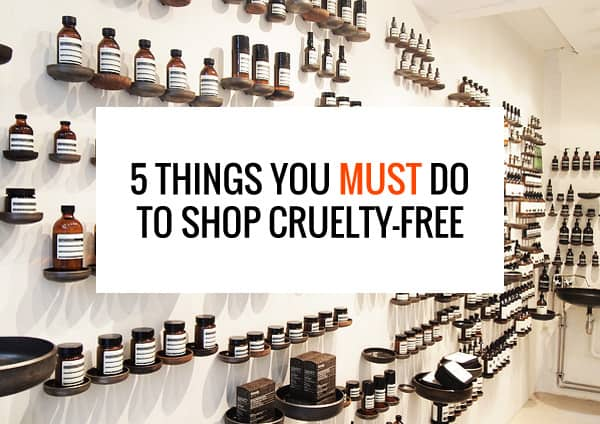 tips for buying cruelty-free