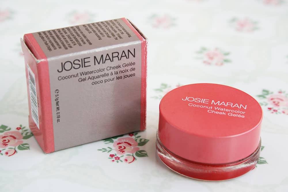 Josie Maran Coconut Watercolor Cheek Gelee in Poppy Paradise
