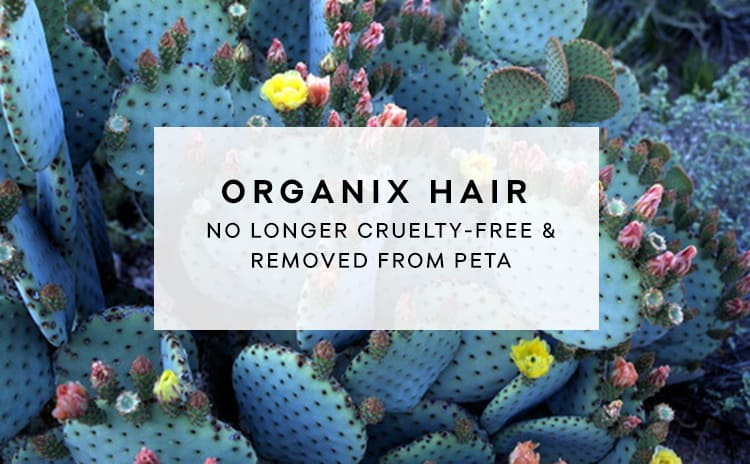 Organix No Longer Cruelty-Free