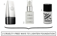 3 Cruelty-Free White Foundation Mixers To Lighten Your Foundation