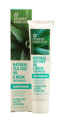 Desert Essence Toothpaste without Fluoride