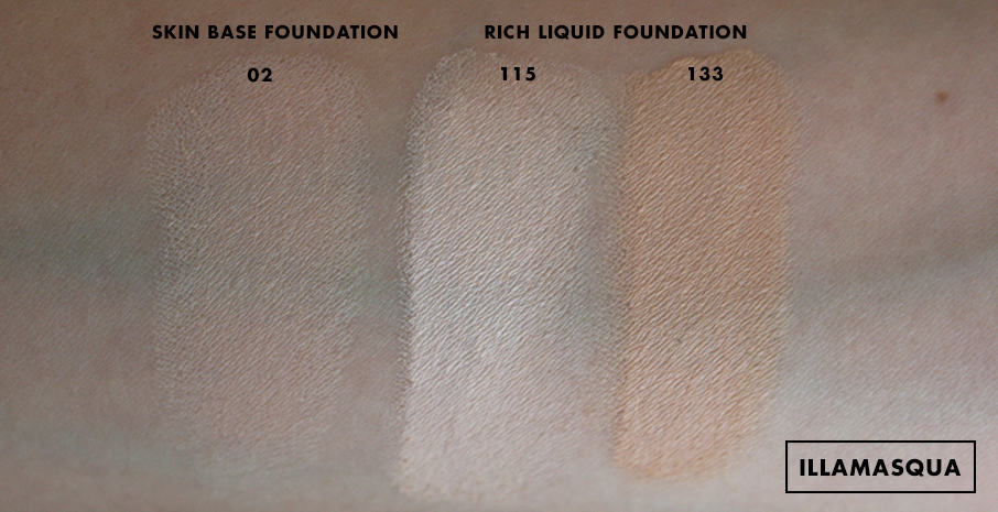 Illamasqua Rich Liquid Foundation Review