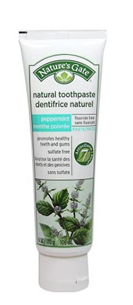 Nature's Gate Natural Toothpaste without Fluoride