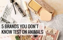 5 Brands Most People Assume Are Cruelty-Free But Aren't