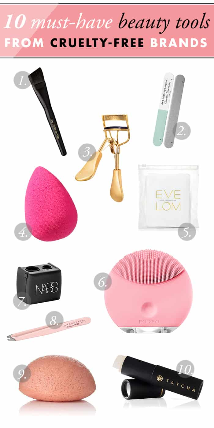 10 Must-Have Beauty Tools From Cruelty-Free Brands