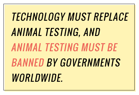 why animal testing should not be banned