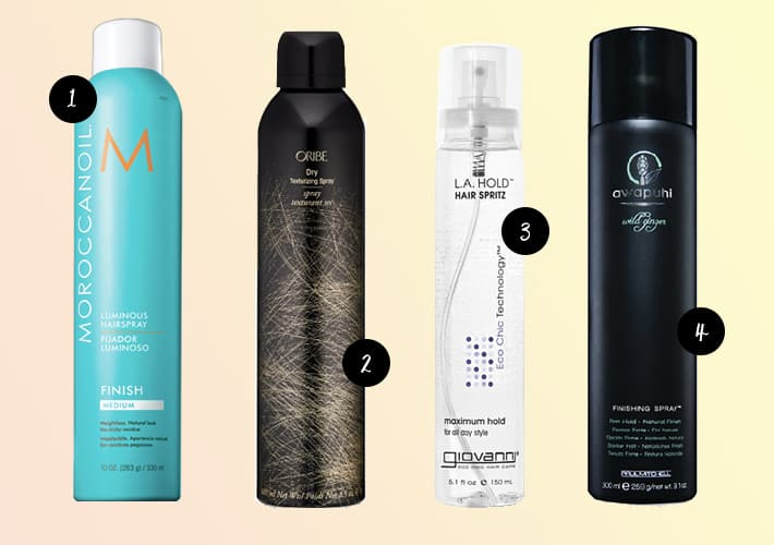 Cruelty-Free Hair Spray
