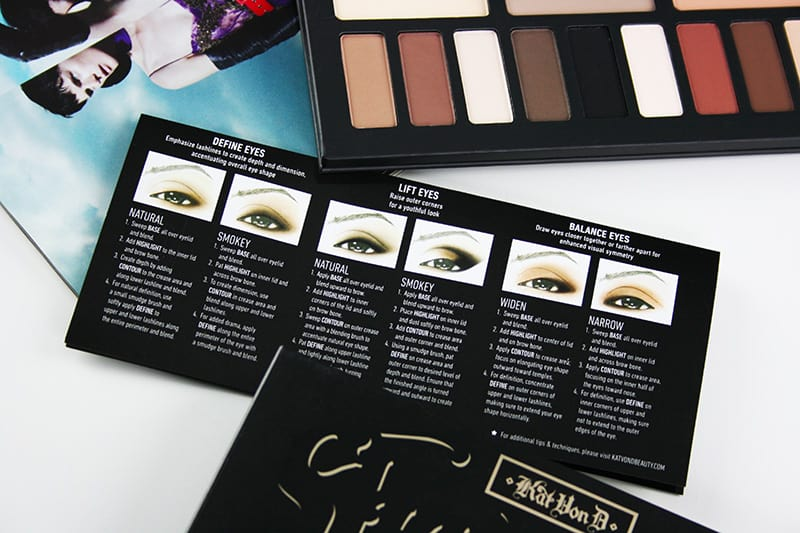 Kat Von D Shade + Light Eye Palette Review