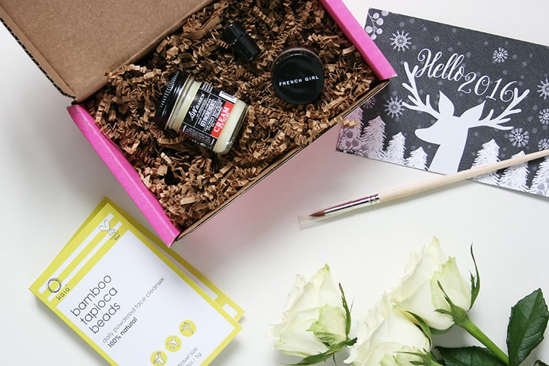 Petit Vour January 2016 - Vegan beauty box!