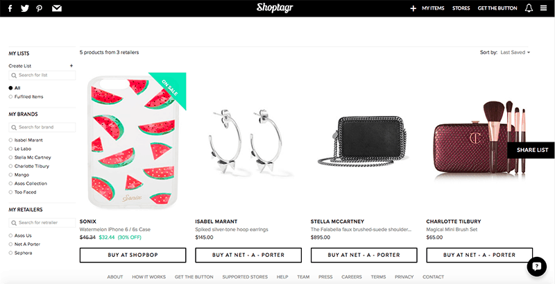 shoptagr-items