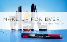 Is Make Up For Ever Cruelty-Free? | 2017 Animal Testing Policy