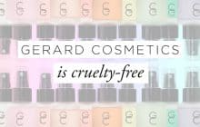 Gerard Cosmetics: Animal Testing Policy & Correspondence