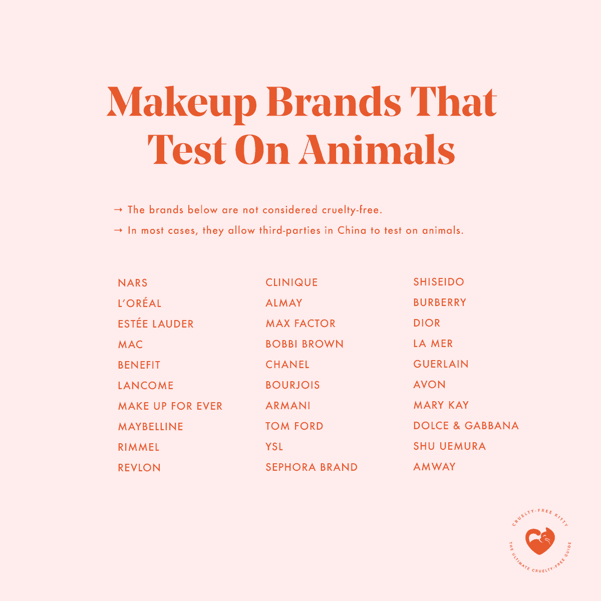 30 Makeup Brands That Still Test On