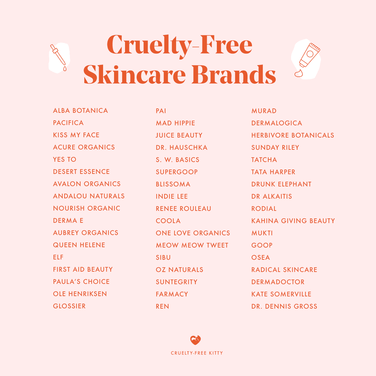 51 Cruelty Free Skincare Brands For